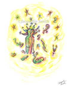 TWIN FLAME ~ Cosmic Portrait